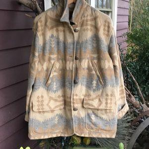 Jackets & Blazers - Vintage RALPH LAUREN Aztec wool jacket/coat